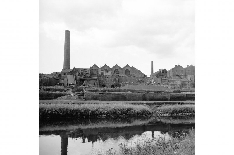 Glasgow, Glasgow Road, Shawfield Chemical Works General view from NE showing SE side of works