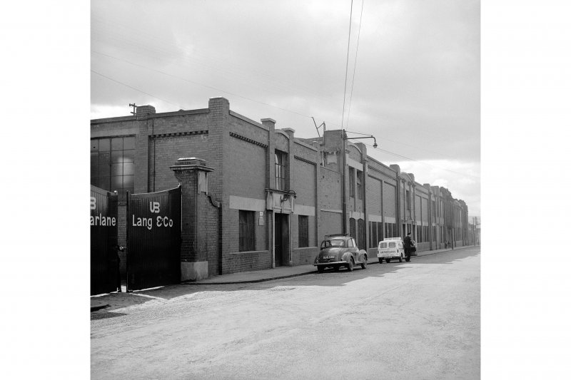 Glasgow, 35 Clydeford Drive, McFarlane Land and Co Biscuit Factory General View