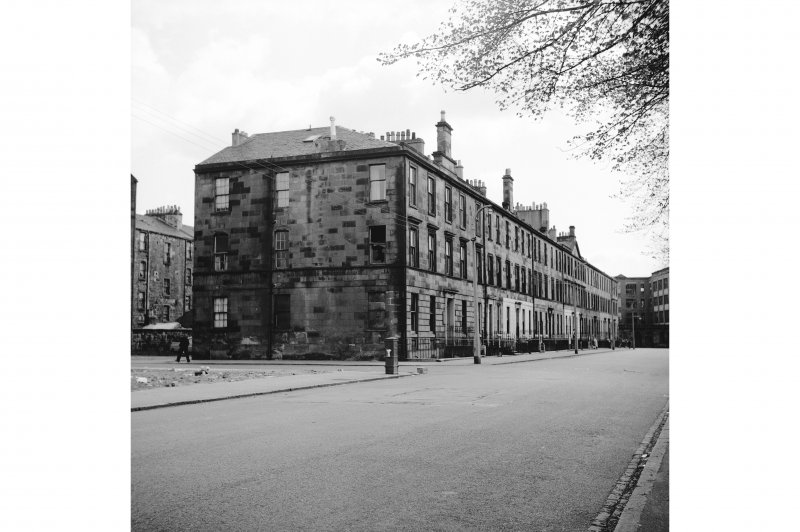 Glasgow, Monteith Row General View