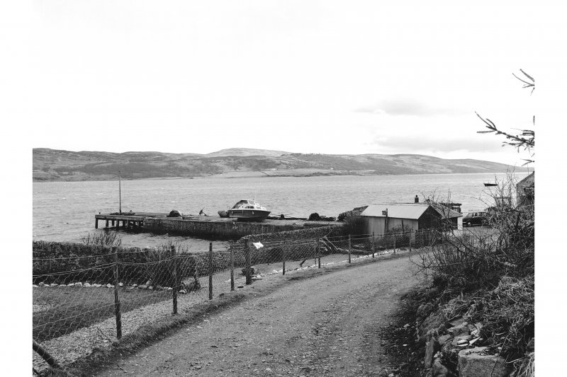 Scanned image of Argyll, Kames View of gunpowder works pier