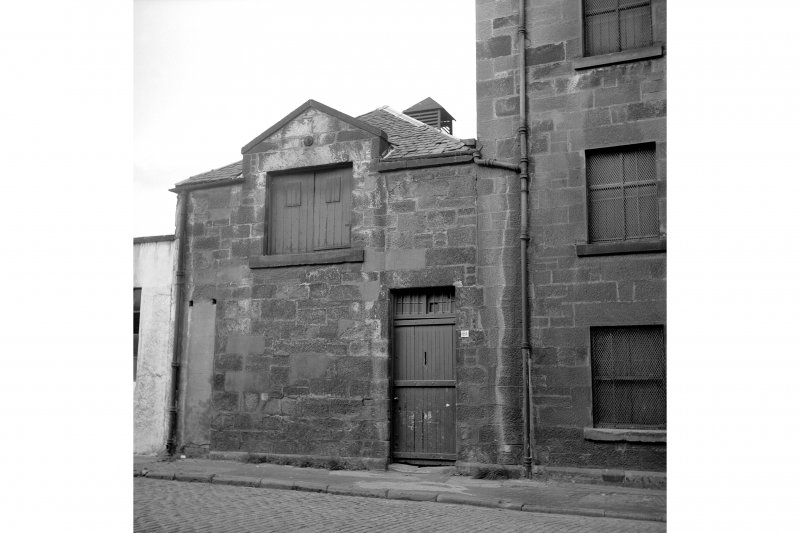 Glasgow, 79-81 Cheapside Street, Grain Mill View of grain hoist and kiln at N end of side