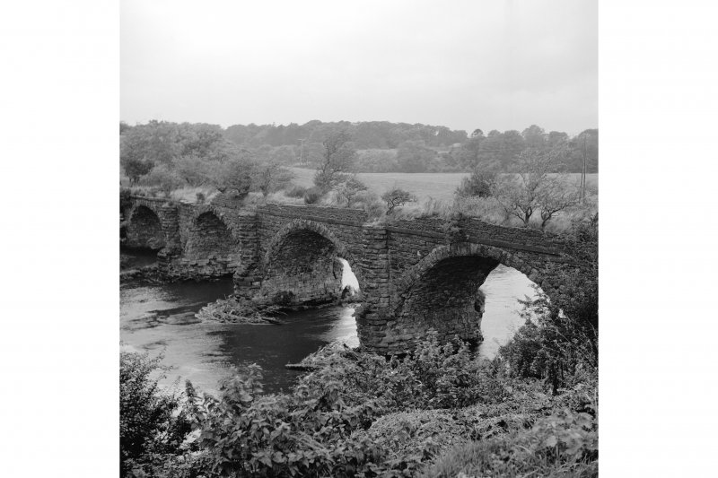 Laigh Milton Mill Viaduct View from ESE showing S front