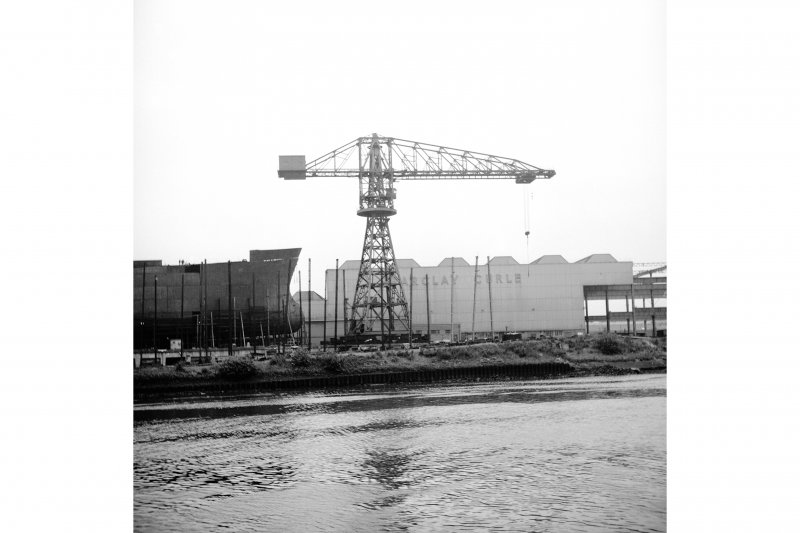 Glasgow, Barclay Curle and Co, Scotstoun Shipbuilding Yard General View