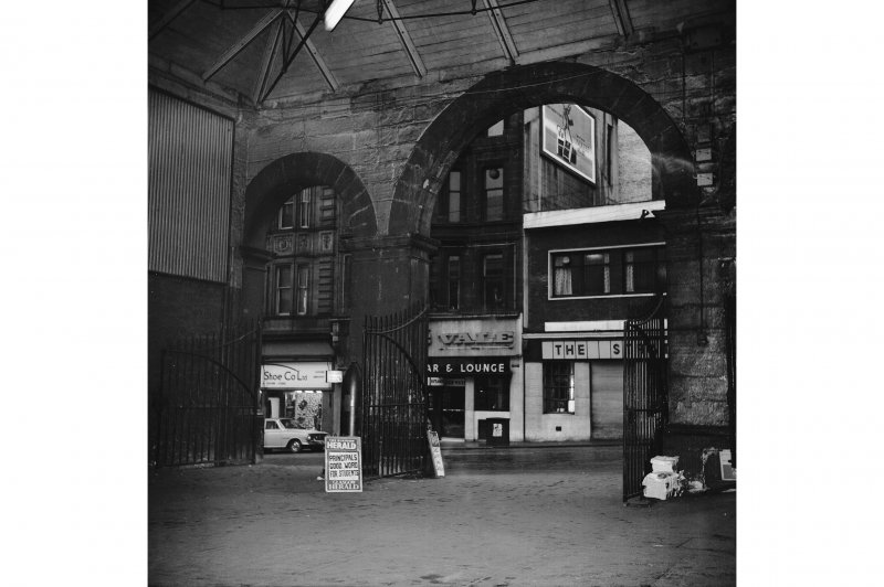 Glasgow, West George Street, Queen Street Station; Interior General View