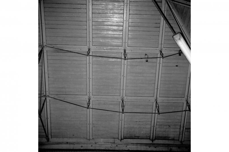 Glasgow, West George Street, Queen Street Station; Interior Detail of interior roof construction