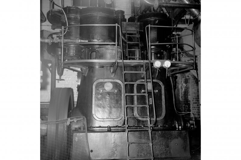 Cardowan Colliery; Interior View of air compressor