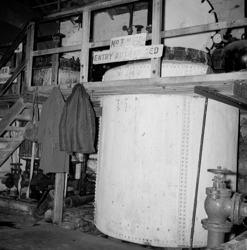 Netherplace Bleachworks, Electricity Generating Station; Interior View of No.3 Kier