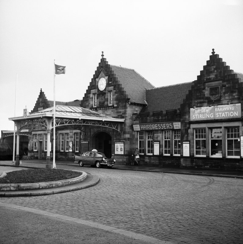 View of frontage of Stirling Station.