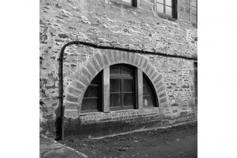 New Lanark, Mill No.3 View of blocked wheel arch