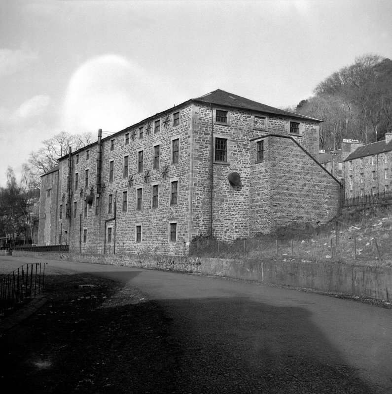 New Lanark, The Institute View from S