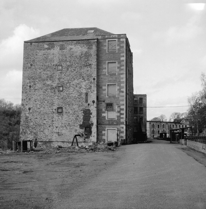 New Lanark, Mill No. 3 View from SE