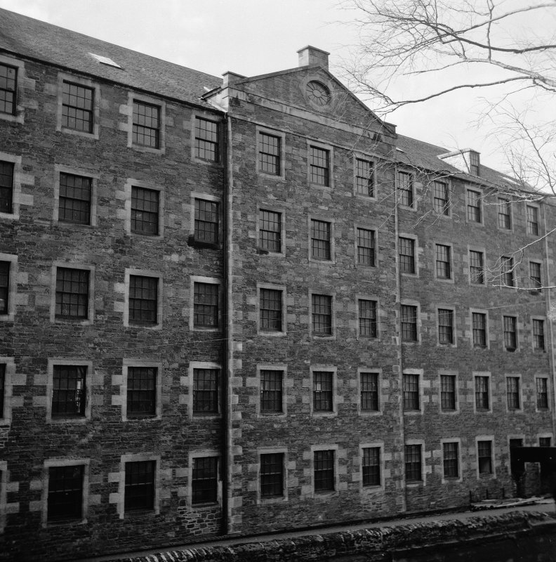 New Lanark, Mill No.3 View from E