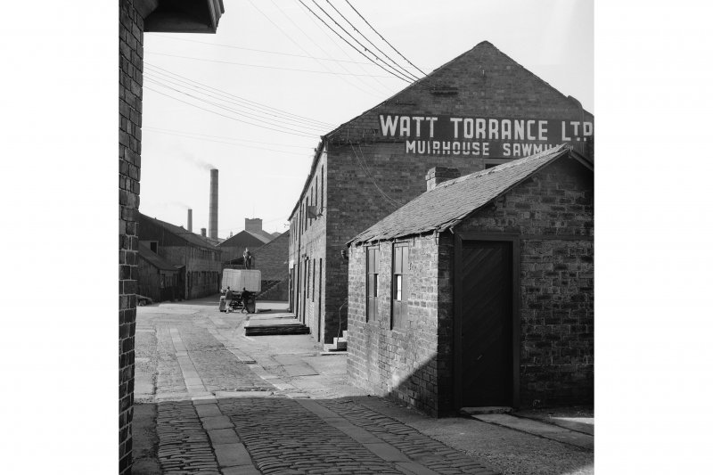 Glasgow, 129 Maxwell Road, Muirhouse Sawmills General View
