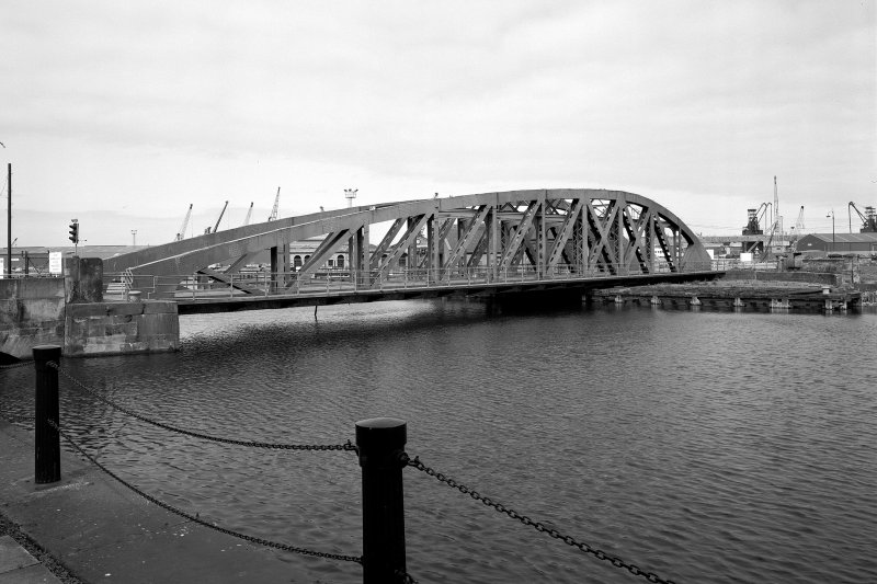 Swing Bridge. View from South.