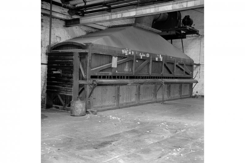 Perth, 1 Mill Street, Pullar's Dyeworks; Interior View of carpet beating machine