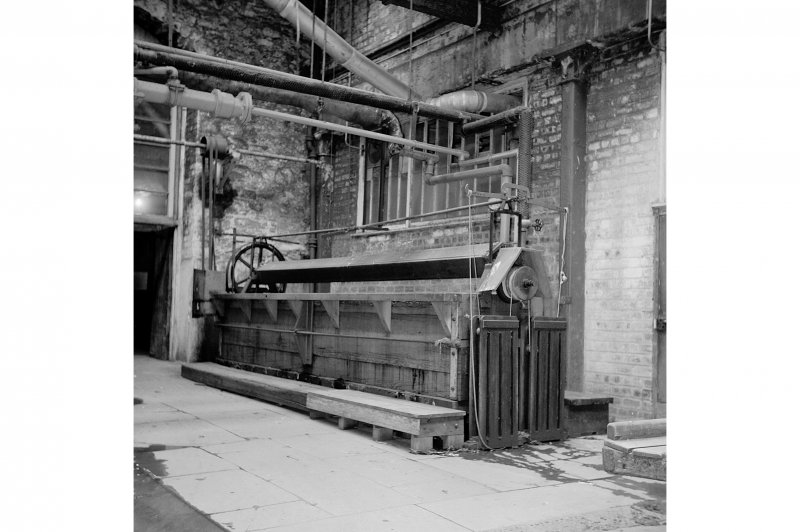 Perth, 1 Mill Street, Pullar's Dyeworks; Interior View of dyeing machines