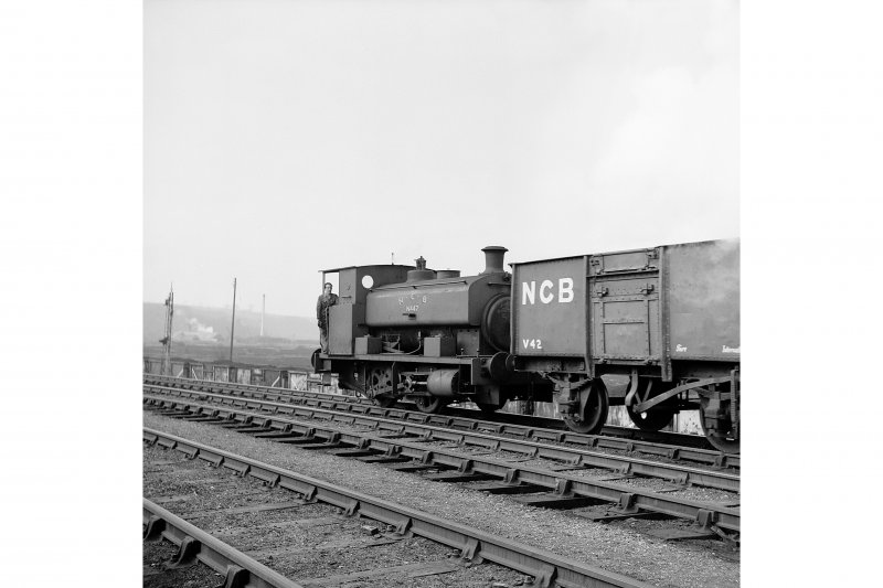 Bo'ness, Kinneil Colliery View showing N.C.B. East Fife Area no.47