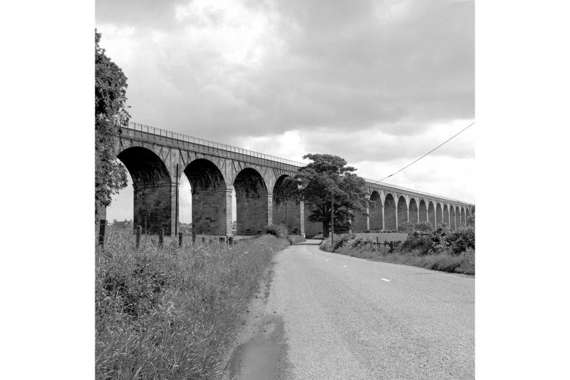 Avon Viaduct View from W showing SSW front