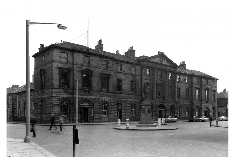 Edinburgh, Constitution Street, Leith Exchange Buildings. General view from North-West