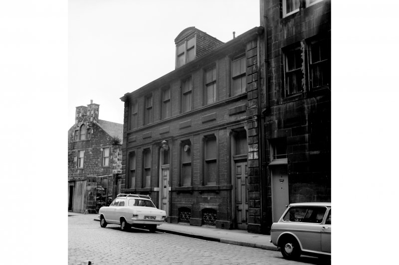 Edinburgh, 5-7 Elbe Street, Warehouse View from E showing SE front
