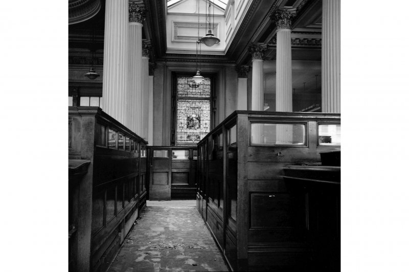 Glasgow, 110-118 (even) Queen Street, British Linen Bank; Interior General View
