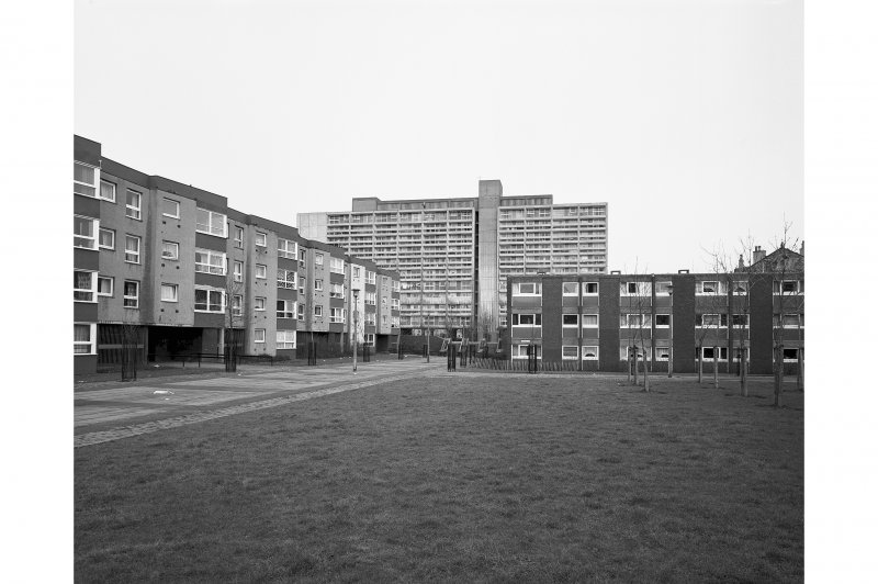 Tolbooth Wynd Estate View from South West