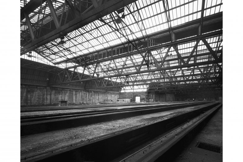 Leith Central Station, interior View from North East.