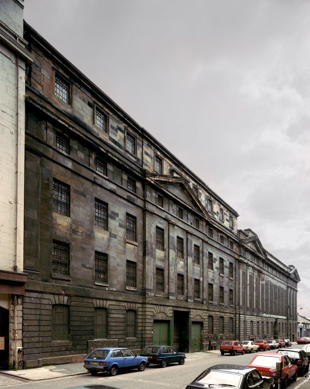 Glasgow, 44-72 James Watt Street. General view from North-West.