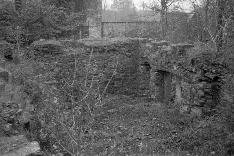 Gatehouse of Fleet, Birtwhistle Mills View showing remains of mills