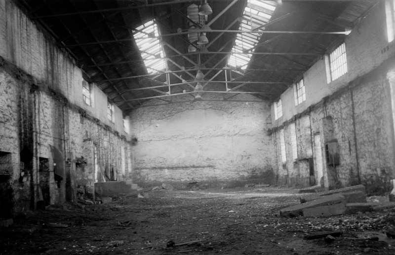 Glasgow, 83 Castlebank Street, Partick Foundry, Interior View