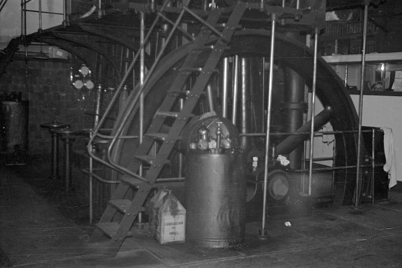Interior View showing pumping engine