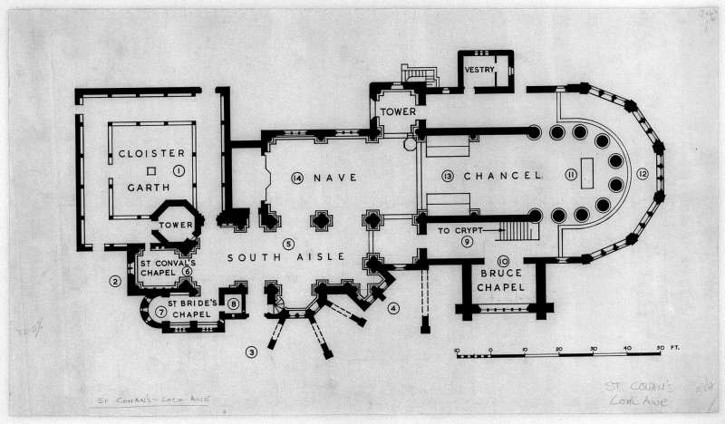 Plan. Scanned image of E 01466.