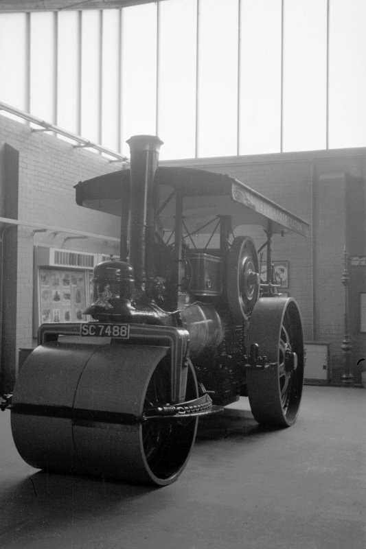 Interior View showing steam roller