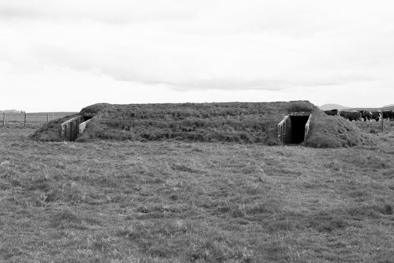 Air-raid shelter, view from North.