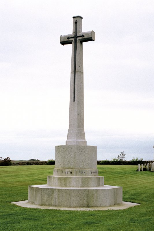 Cross of Sacrifice.  View from North