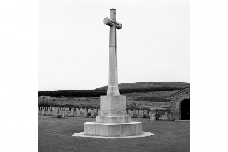 Cross of Sacrifice.  View from East