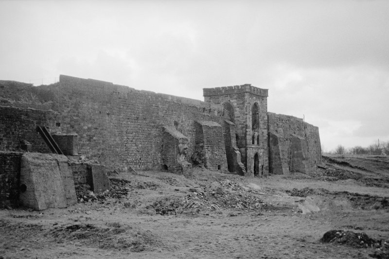 General view from NE showing furnace bank and engine house