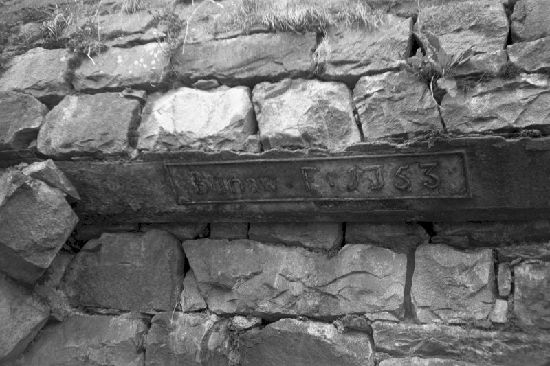View showing lintel above tap arch