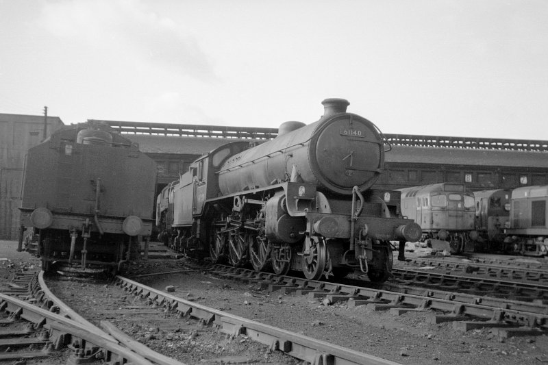 View showing B1 4-6-0 61140.