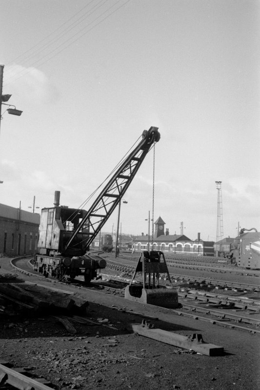 View showing steam crane