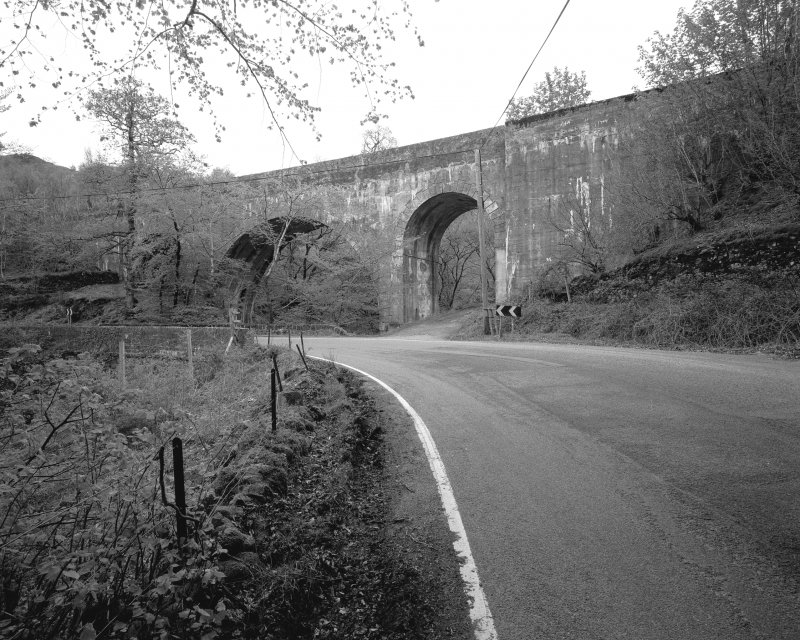 General view of viaduct from S