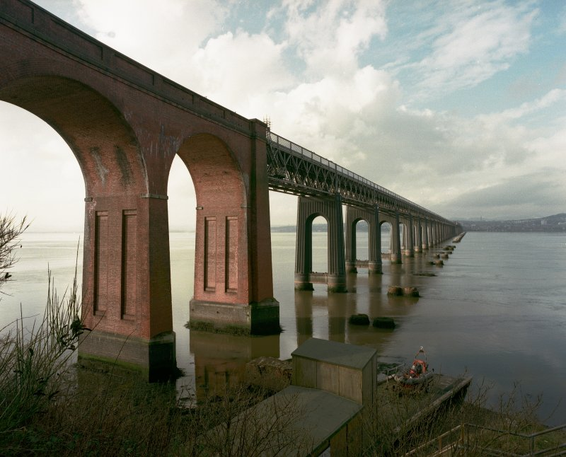 Wormit, Tay Bridge form S.  Original neg. E03443/CN.