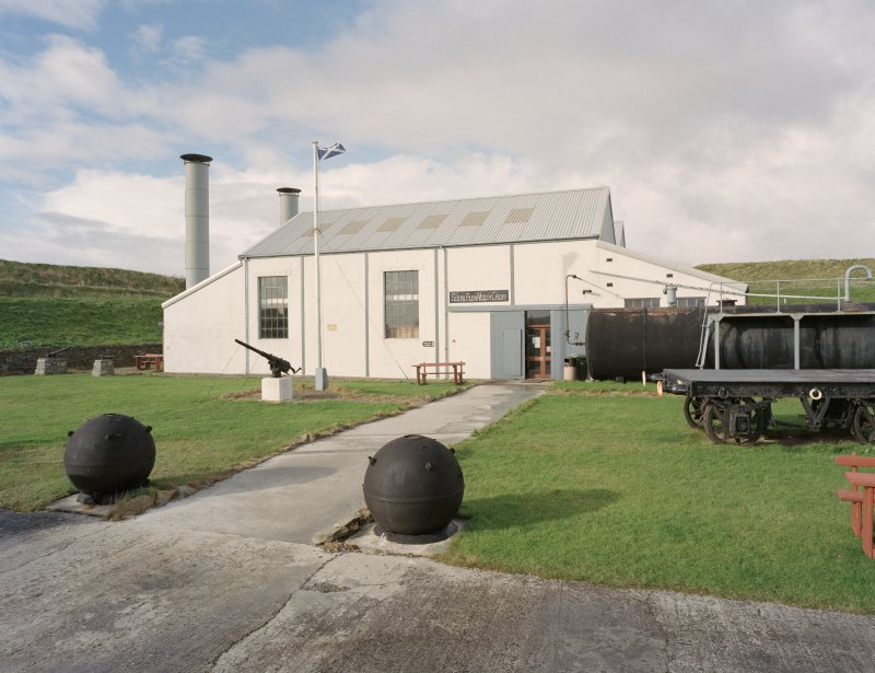 View of Scapa Flow Visitor Centre from North East