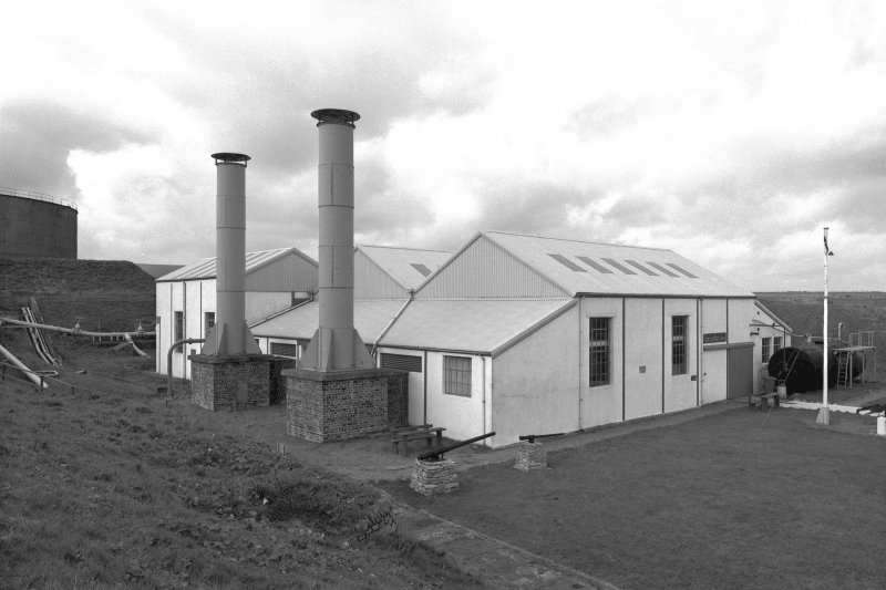 View of Scapa Flow Visitor Centre from South East