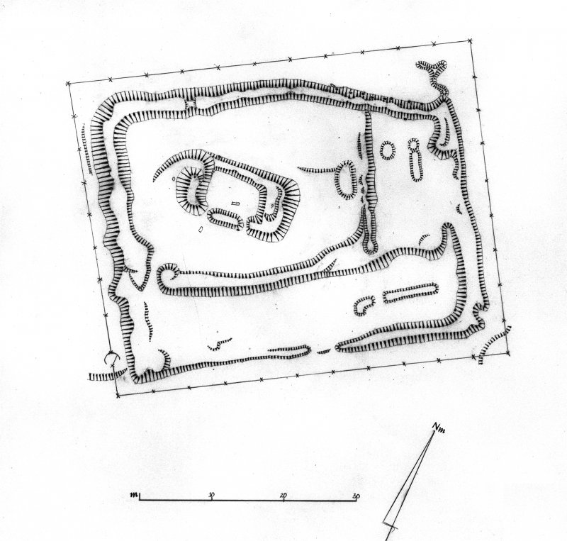 Hilton of Cadboll chapel. Site of Hilton of Cadboll Pictish cross slab discovery. Digital image of E10517.