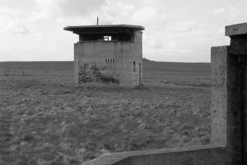 Battery observation post, view from South.
