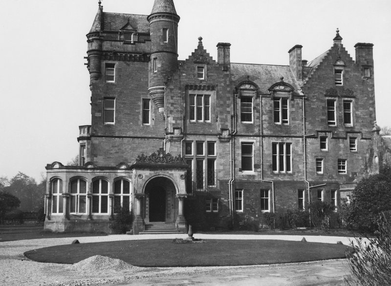 View of Kilmahew House prior to construction of new college.