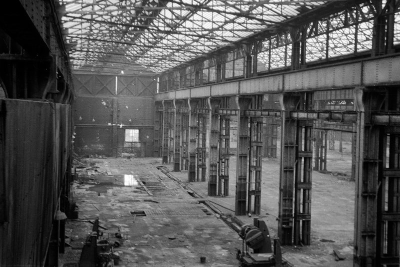 Interior View of erecting shop