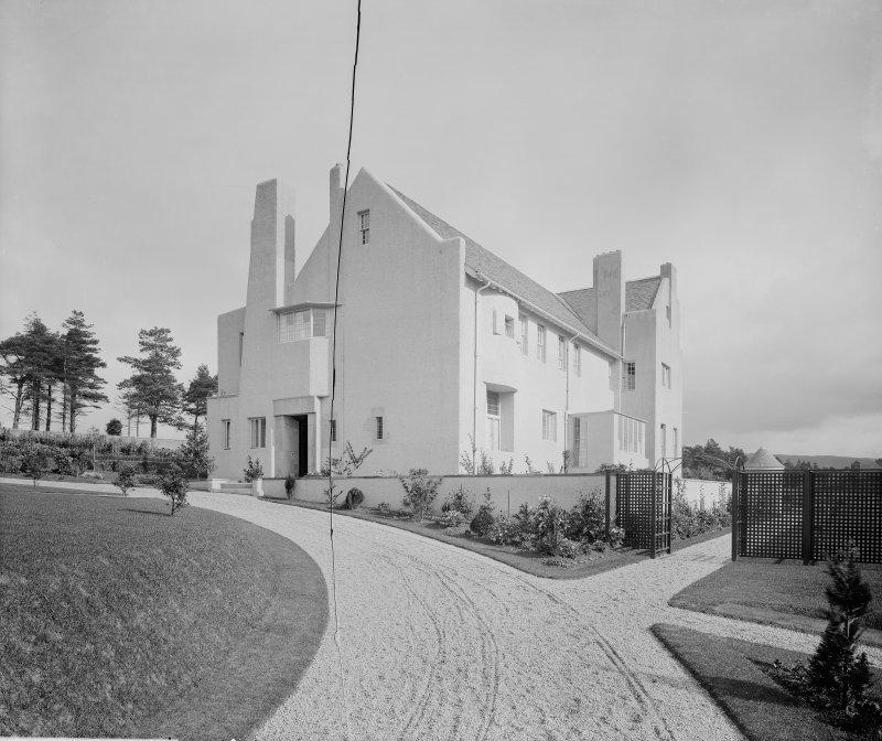 General view of Hill House from South West