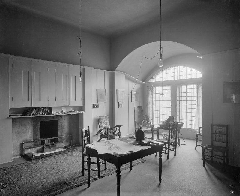 Glasgow School of Art, interior General view of Director's Room